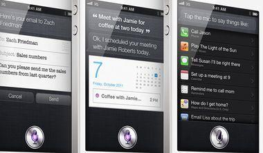 聲控iPhone的人工智慧助理
