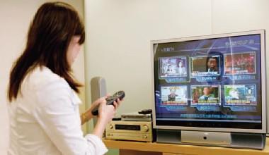 ▲電視數位化的理想規畫中,用戶可以跟電視互動,進入「玩」電視階段,夢想很美,但要先克服本土高畫質內容不足的大問題。