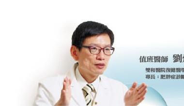 ▲值班醫師 劉燦宏 雙和醫院復健醫學部主任、台灣肥胖醫學會理事