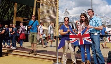 ▲麥當勞等11家跨國品牌商,共贊助倫敦奧運約新台幣330億元,買下史上最貴的奧運頂級贊助商門票。