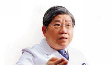 ▲值班醫師林俊彬