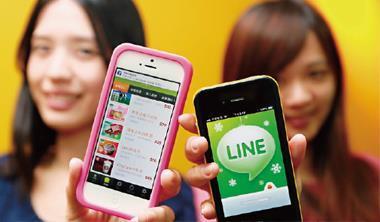 台灣大推出即時通訊App「M+」,用電子商務平台積極應戰Line 等人氣對手,目前已取得200 萬用戶,其中有過半來自網外。