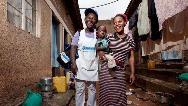 「雅芳小姐」為非洲貧鄉帶來健康