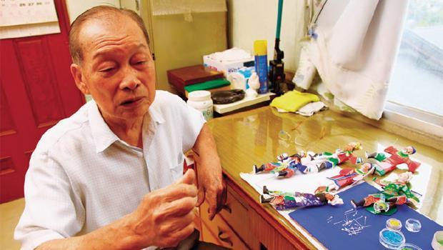 台灣的剪黏國寶 保原師