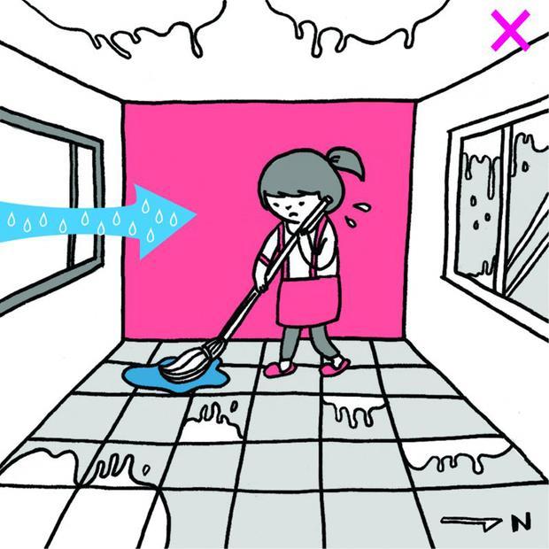 你以為開窗就能解決你家反潮嗎?錯!快把窗戶關起來