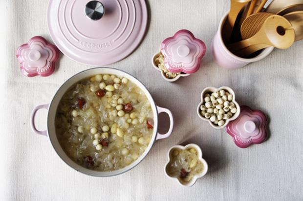 週末輕鬆煮》桂花白果蓮子湯(食譜)
