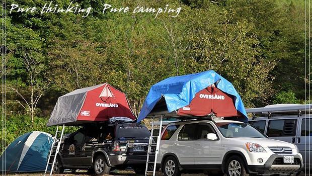 梅雨天露營太潮濕?到車頂搭帳篷吧!