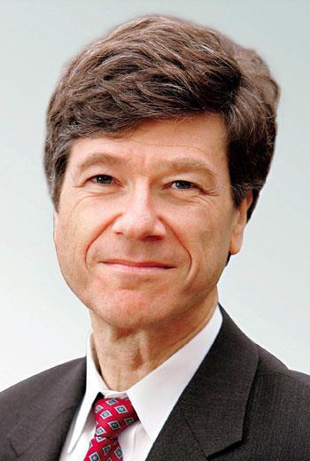 聯合國秘書長特別顧問 薩克斯(Jeffrey Sachs)