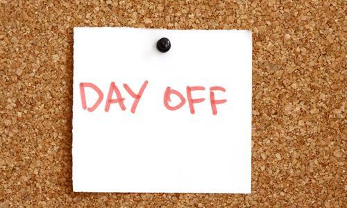 明明才星期一,卻已經想著再撐四天就好?》因為你沒好好安排「假日行事曆」