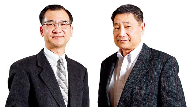 台灣大學會計系教授:劉順仁(左)、雲朗觀光集團執行長:張安平(右)