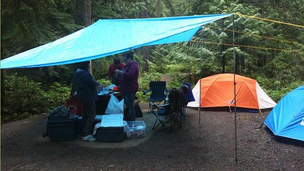 好衰!到了營地就下雨.......達人:注意這3點,雨天照樣能開心露營!