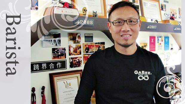 英文不好也無法阻止他追求夢想!一個環工系畢業生,如何變國際咖啡大師?