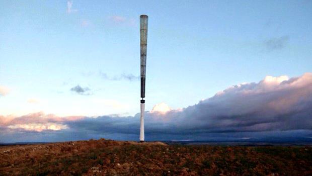 西班牙設計這款「風力發電機」,竟然...沒有風扇!而且成本更低更安全