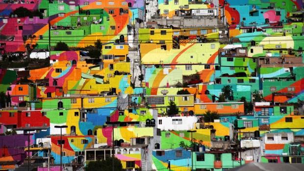美化城市除了種樹還能幹嘛?這個小鎮,用「一幅畫」打造209戶居民對城市的認同感