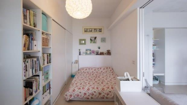 17坪2房一廳,收納怎麽做才夠?