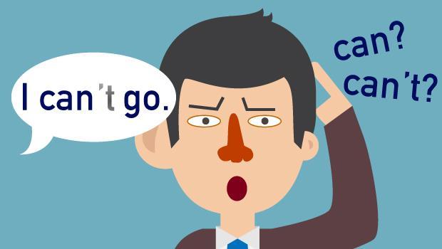 當你聽不出來老外到底是說「can」還是「can't」的時候,怎麼辦?