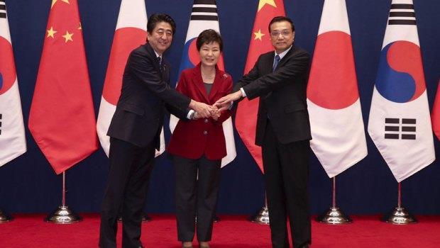 中日韓高峰會》為拚經濟,3個「世仇」都能手牽手,台灣還要自閉到何時