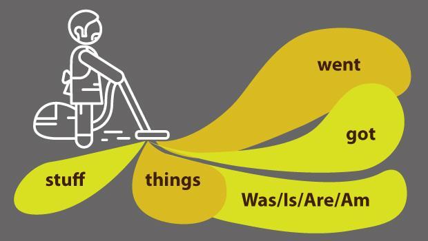 Stuff、Things...少用這5個「懶惰字」,讓你溝通更有效率!