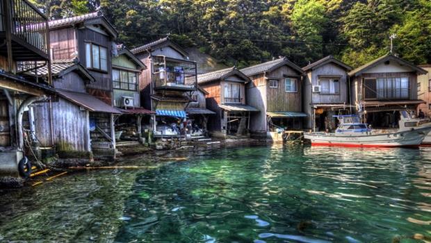 京都的超美小漁村,號稱日本威尼斯!趁觀光客不多趕快去,體驗船屋住宿