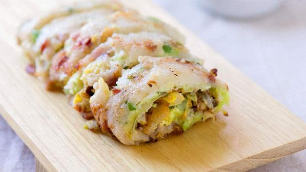 比到早餐店排隊更快!教你自製美味、無添加「古早味高麗菜蛋餅」,5分鐘完成
