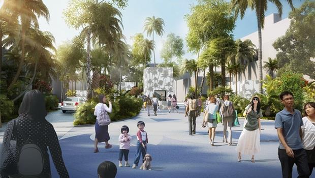 又多一個蹓孩子的地方!台灣聯手荷蘭設計公司,打造被商店街包圍的親子親水公園