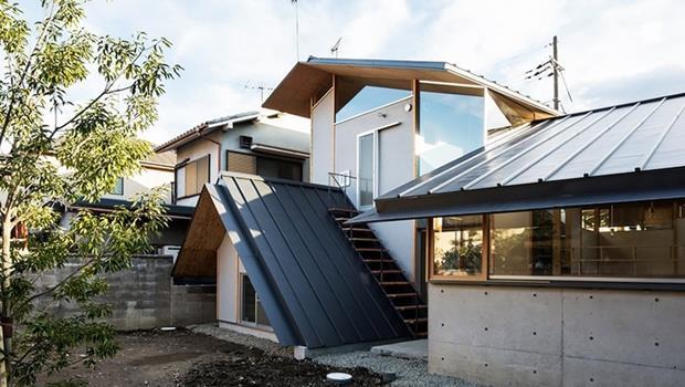 圖美!超有意境「京都小屋」,建築師變出被「被6個屋頂包圍」的房子