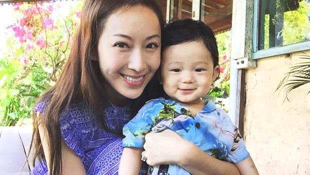 隋棠對兒子Max感性告白:你一笑,我的黑眼圈都飛走了!