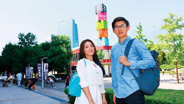 台生主動爭取中國實習,其中互聯網、金融業最競爭。交大陳正和、成大戴妏玲擊敗眾多對手,才搶到北京Uber 實習機會。