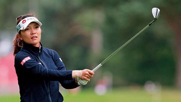 旅日的台灣高爾夫球星盧曉晴目前世界排名高居第28,有機會為台灣在里約奧運奪牌。