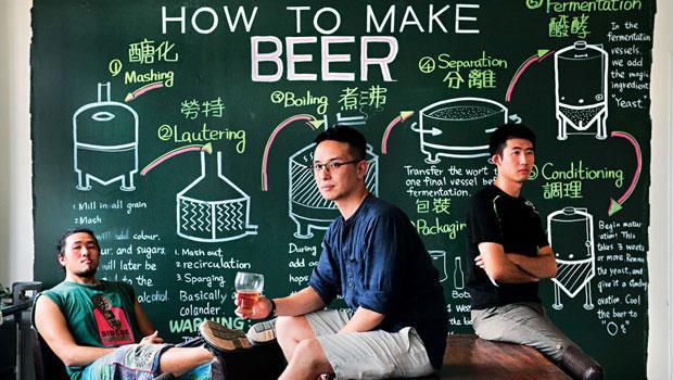 台大人奇想   台灣雜糧啤酒紅到香港