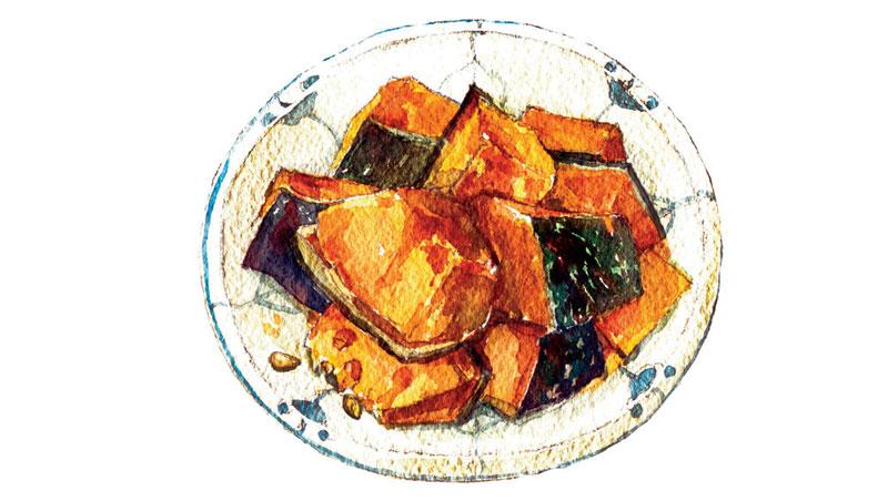 紅燒南瓜,爸爸種下的鮮甜記憶
