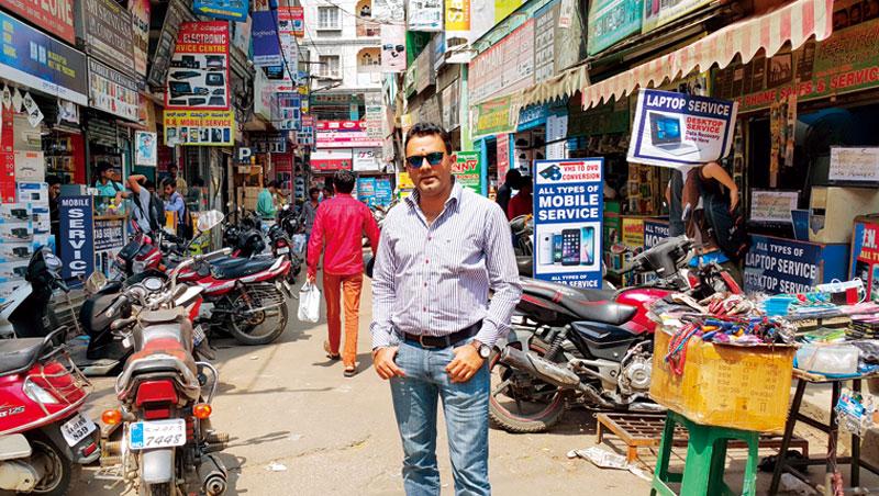 35歲馬諾基:我在印度,幫台灣產品打天下