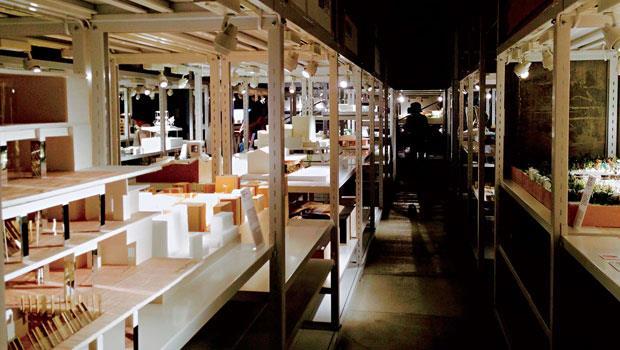 日本最近成立了所謂的「建築倉庫」,用來蒐藏展示建築師們的模型。