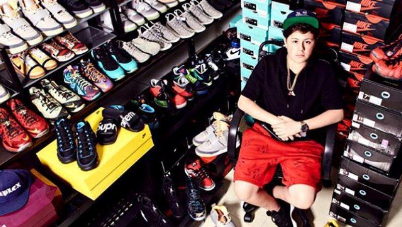 美國知名DJ、名媛女星都找他拿貨》他才16歲,靠賣「限量球鞋」年營收上看3千萬