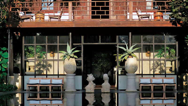 旅店花了7年時間設計打理,每一處都可見主人的細膩心思和出眾品味。