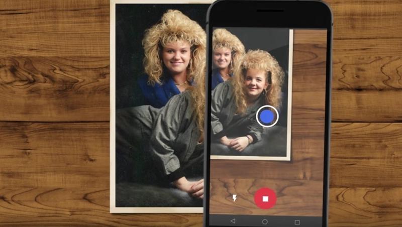 做卡片、結婚兒時回顧都方便!這款App,對舊照片按4下就能提高解析度、擺脫反光模糊照