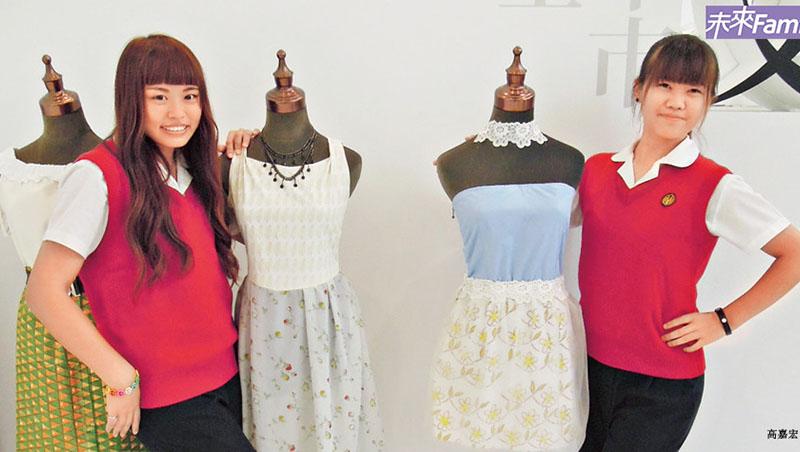 研究林志玲的身材比例,再教你「穿搭」...台中文華高中把時裝伸展臺搬上美術課