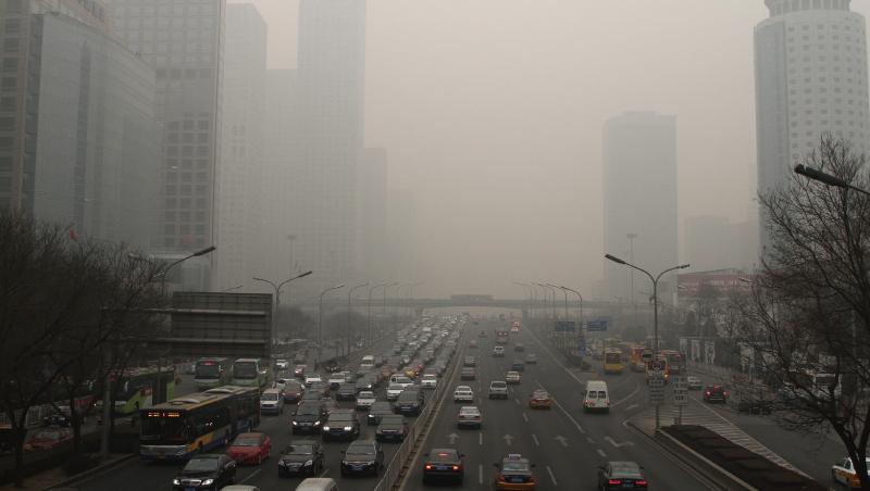 北京 smog 拉警報