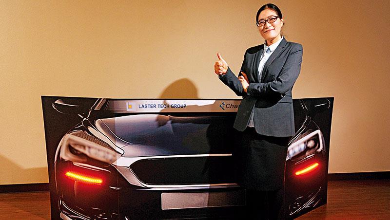 46 歲的劉美秀熬過瀕臨破產的黑暗期,去年營收、獲利雙雙創新高。