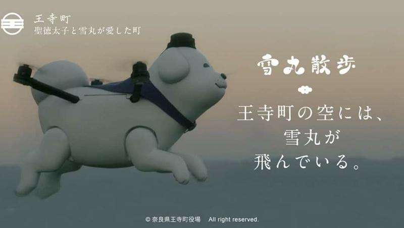 有影片!日本觀光新招,奈良推出超可愛萌寵「會飛的狗」來擔任觀光大使
