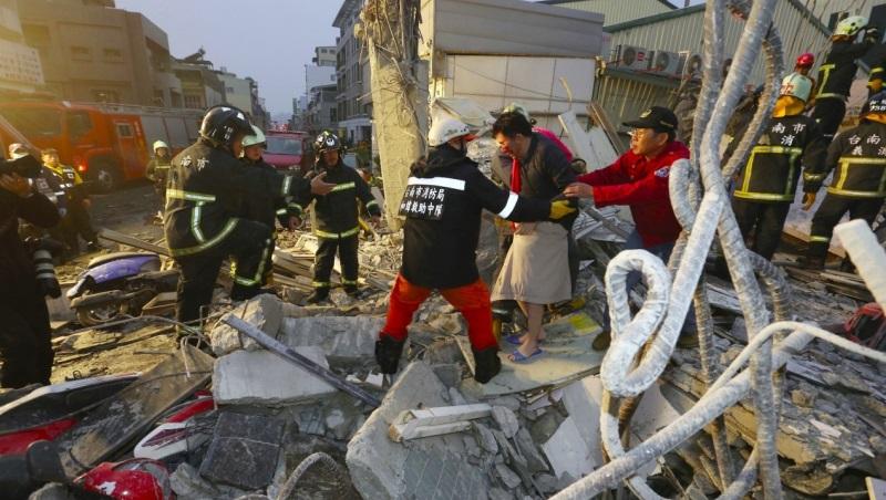 美濃地震一周年》LINE又瘋傳「避難黃金三角」,專業防災員:大概有0.008%的存活機率