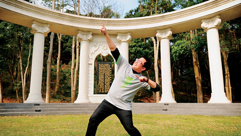 南投爽文國中教導主任 王政忠:「如果台灣教育是一大片森林,我選擇的是鬆土,而不是把樹砍掉。」