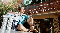 他告別工研院  讓緬甸人喝到乾淨水