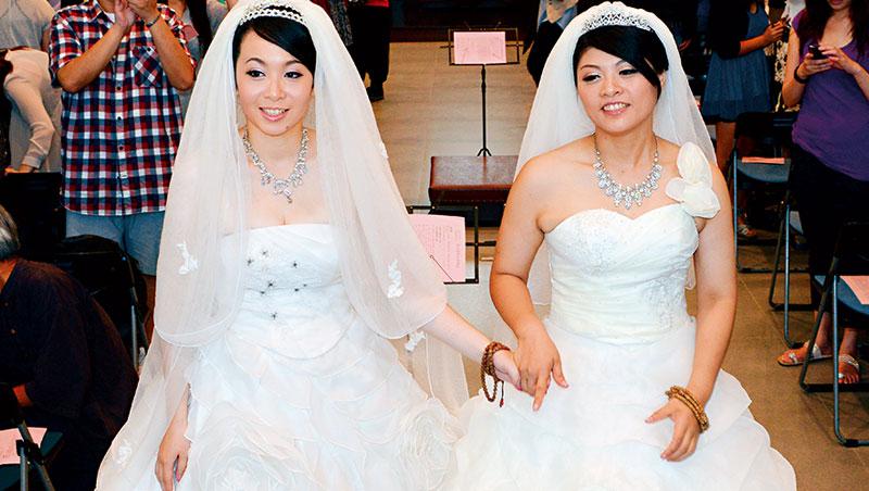 根據智庫機構William Institute 研究,美國高等法院通過同婚合法後,頭3 年可創造26 億美元的婚顧商機。