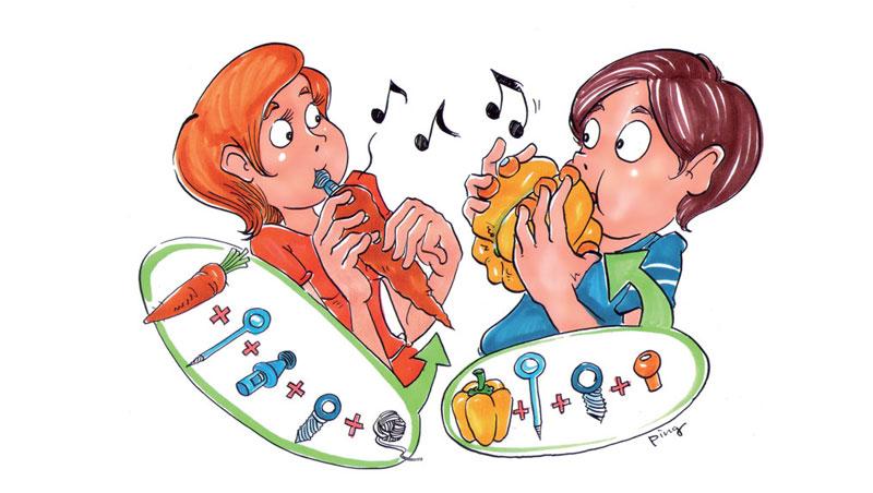 蘿蔔變豎笛!它讓你自製樂器玩聲音