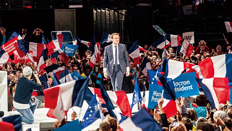 法國選出有史以來年輕總統馬克宏,他推出的500 億歐元振興經濟方案,預計到2022 年,要把失業率降到7%。