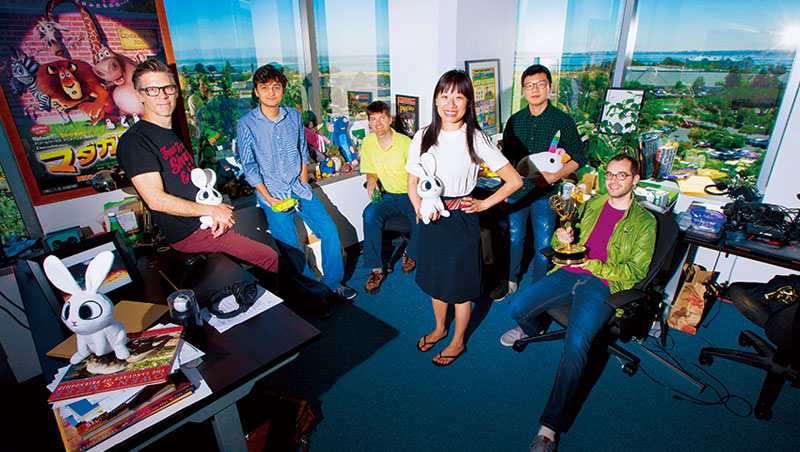 Baobab Studios 創辦人暨執行長 樊蘊明(右3)
