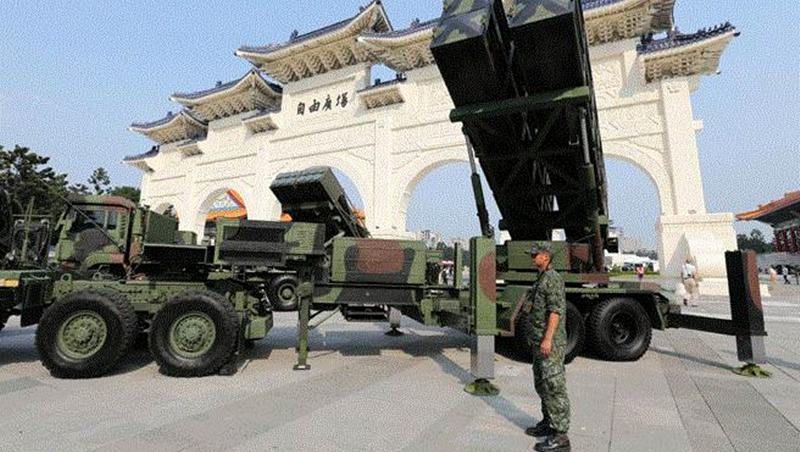 英國媒體:台灣已是插滿導彈的小島