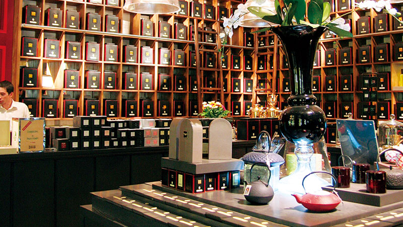 國際品牌之外,我最期待是,我們也能出現如英國的Fortnum & Mason、法國的Mariage Frères與Dammann Frères、日本的Lupicia這般,囊括世界各產地與在地茶區茶