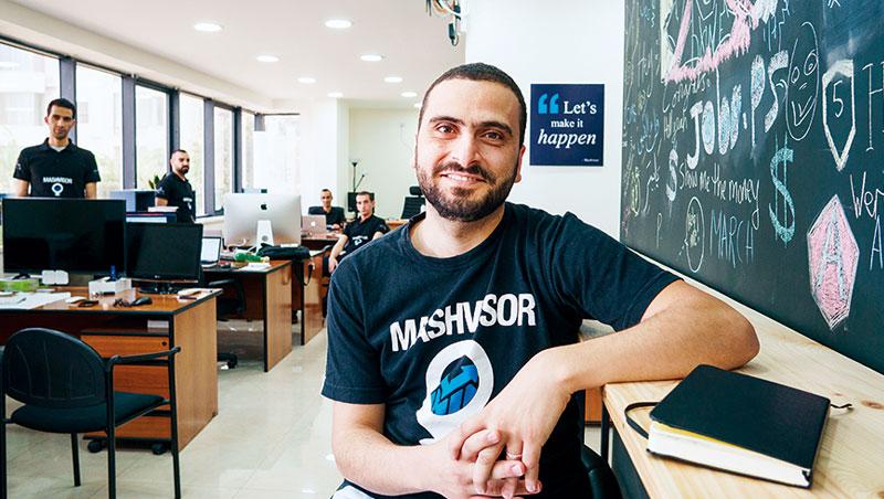 投入網路創業9年,傑布里尼帶領團隊24小時輪班,證明在巴勒斯坦也能做全球生意。